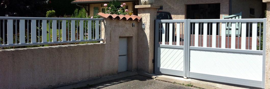 Portails et portes de garage ats c champagne au mont d 39 or for Garage lyon 2